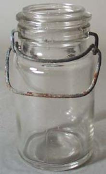 Unmarked Half Pint Canning Jar