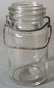 Unmarked Half Pint Canning Jar