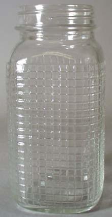 Unmarked Checker Pattern Qt Jar