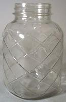 Unmarked Plaid Pattern Qt Jar