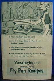 Westinghouse Auto Fry Pan Recipes No Date