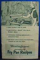 Westinghouse Auto Fry Pan Recipes No Date