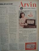 Arvin Velvet Voice Radio Ad 1951