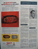 Zenith Radios Big Difference In Clock Radios Ad 1954