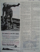 Erie Railroad Man With Future Ad 1945