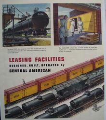 General American Leasing Facilities Ad 1948