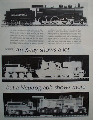 General Electric Neutograph Ad 1968