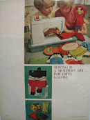 Sewing Is Mothers Art Ad 1965