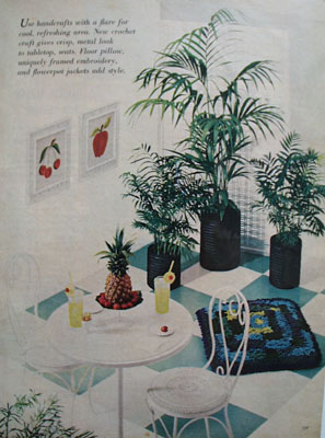 Handcrafts In Cool Area Ad 1968