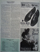 Walk Over Shoes Born That Way Ad 1945