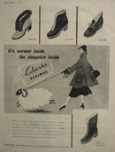 Clarks Womens Boots Warmer Inside Ad 1952
