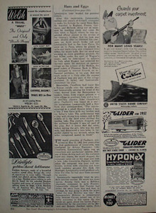 Dirilyte Tableware Golden Hued Ad 1951