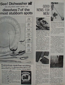 All Dishwasher Ends Water Spots Ad 1964