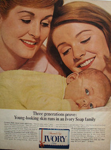 Ivory Three Generations Ad 1965