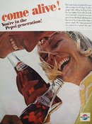 Pepsi Cola Who Is Pepsi Generation Ad 1964