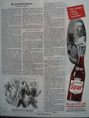 Spur The Cola Drink With Canada Dry Quality Ad 1944