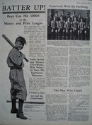 Fitchburgh High School Basketball Team Article 1926