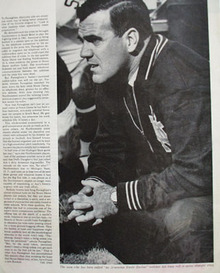Ara Parseghian Article And Picture 1964