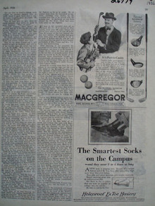 Macgregor It Is Fun to Caddy Ad 1926