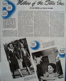 Mothers Of The Stars Article And Pictures 1944