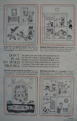 House Building Do Not Build Trouble Ad 1965