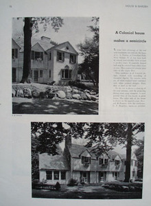 L A Norton Home W. Orange NJ Picture  1931
