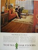 NOFMA Oak Floors For Always Ad 1964