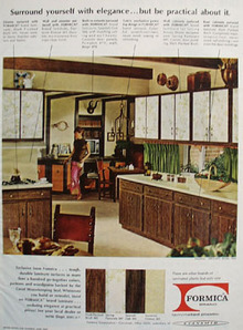 Formica Surround Elegance Kitchen Ad 1967
