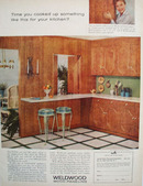 Weldwood Paneling Cook Up Something Ad 1960