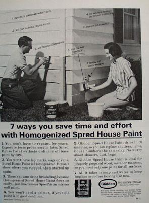 Glidden Pain 7 Ways to Save Ad 1965
