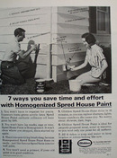 Glidden Pain 7 Ways to Save Ad 1965