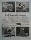 Ansco Film Remembers You Are Human Ad 1944