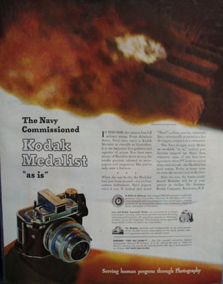 Eastman Kodak Navy commissioned Ad 1944