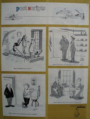 Post Scripts Cartoons 1961