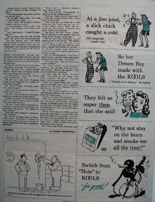Kool At A Jive Joint Ad 1944
