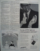Zippo Lighters Work Forever Ad 1954
