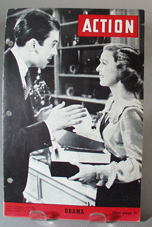 James Stewart and Margaret Sullivan, Action no 144