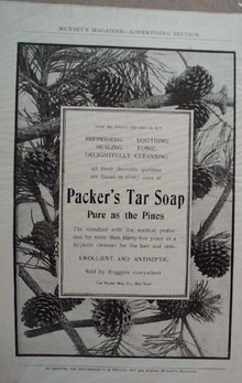 Packer's Tar Soap Ad