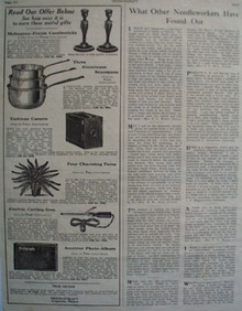 Needlecraft Gifts To Earn Ad 1924