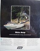 Larson Boats Skin Deep  Ad 1969