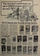 Cook Book Guild 7000 Recipes Ad 1968