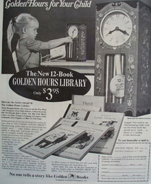 Golden Press Golden Hours Ad 1967
