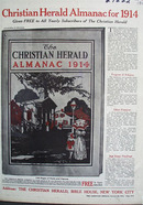 Christian Herald Almanac Ad 1913
