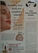 Westmore Lipstick Hollywood Proves Ad 1955