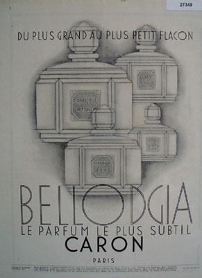 Bellodgia Perfume Paris Ad 1931