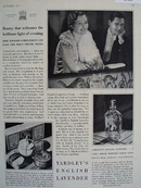 Yardleys English Lavender Couple At Opera Ad 1931