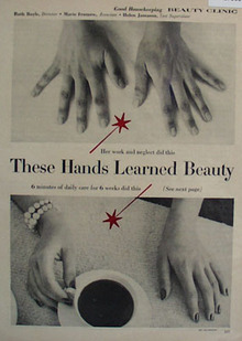 Cold Facts On Dry Skin Article 1958