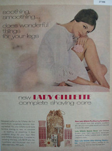 Lady Gillette Does Wonderful Things Ad 1965