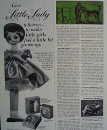 Little Lady Toiletries Ad 1967