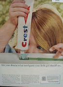 Crest Ask Your Dentist Ad 1965